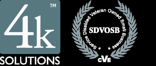 4K & SDVOSB logos